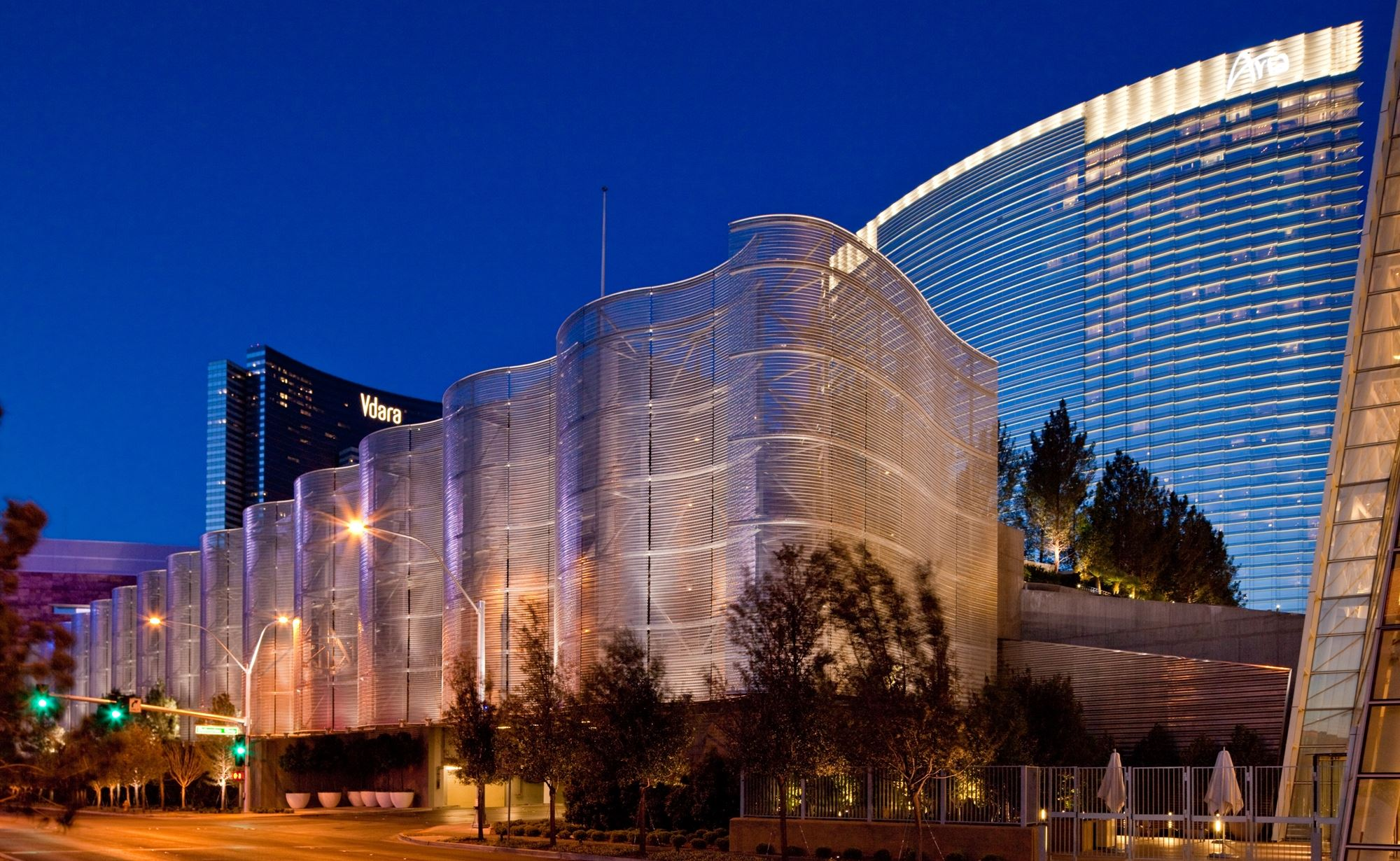 Aria Resort & Casino and Cambridge Architectural Mesh