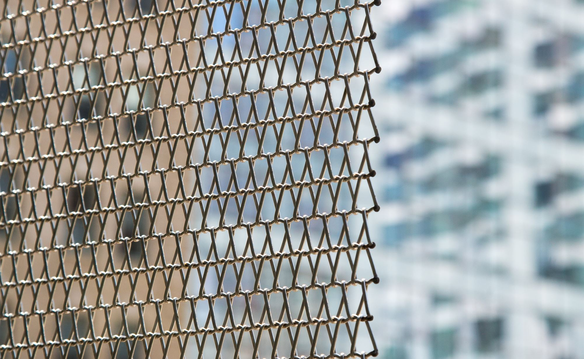 Courtyard by Marriott World Trade Center and Cambridge Architectural Mesh