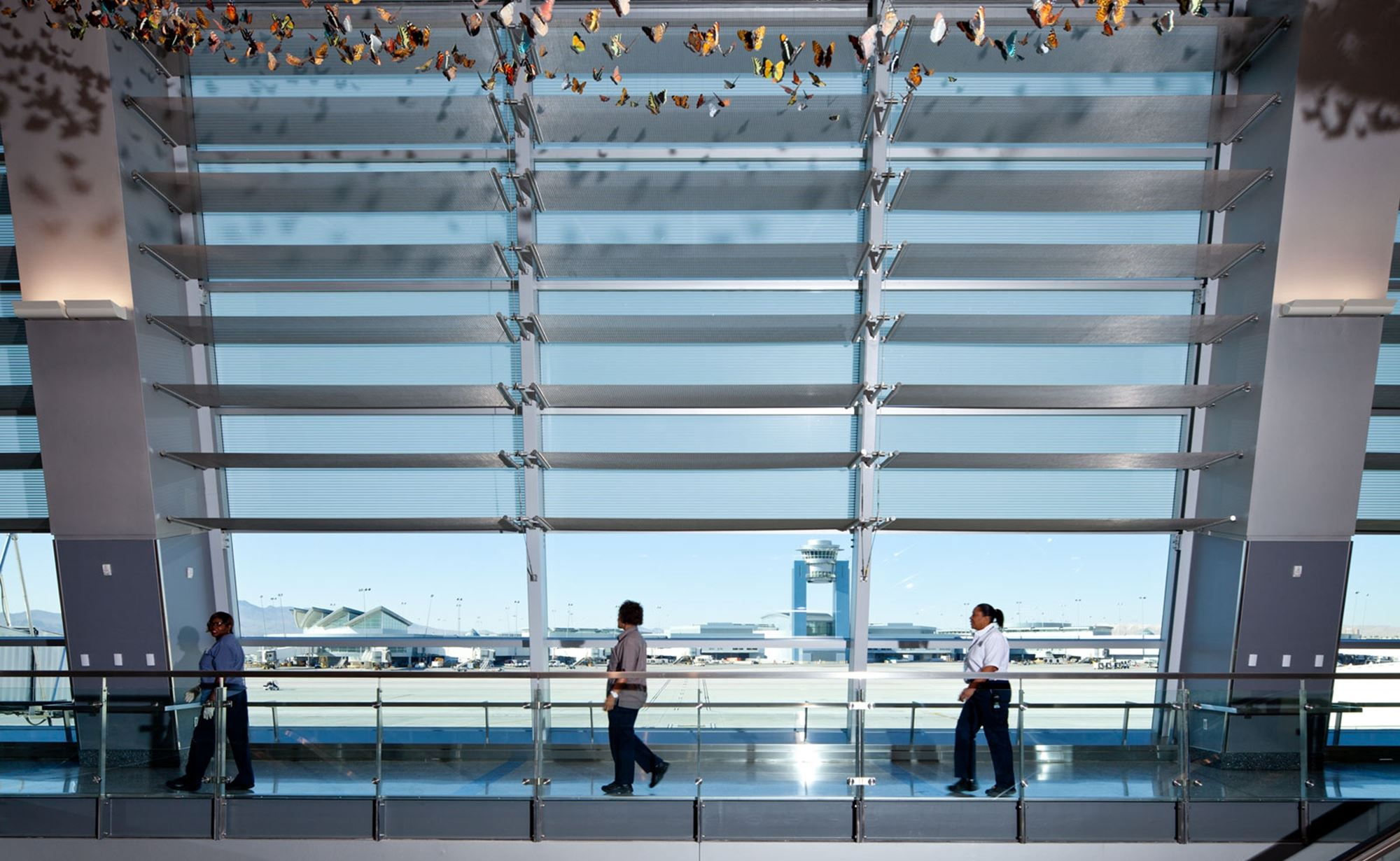 McCarran International Airport and Cambridge Architectural Mesh