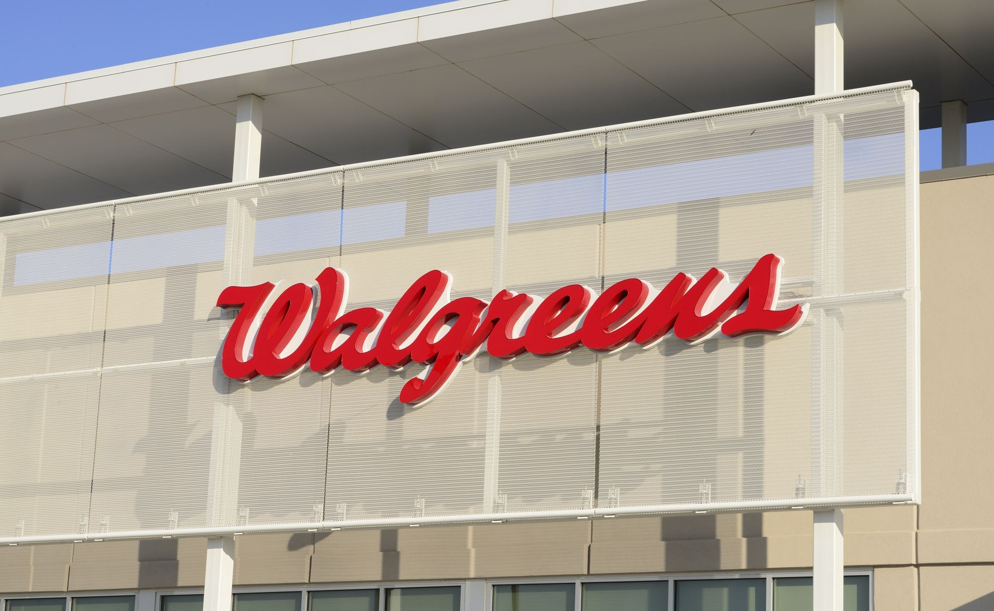 Walgreens and Cambridge Architectural Mesh