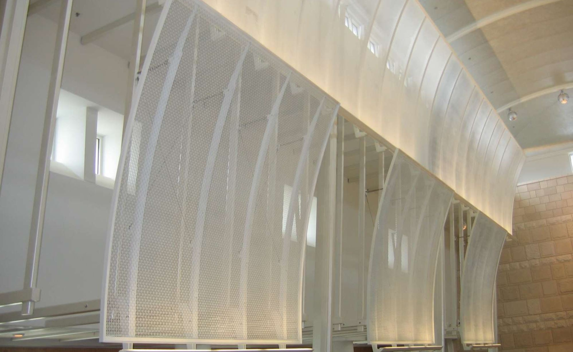 U.S. Navel Academy Jewish Chapel and Cambridge Architectural Mesh